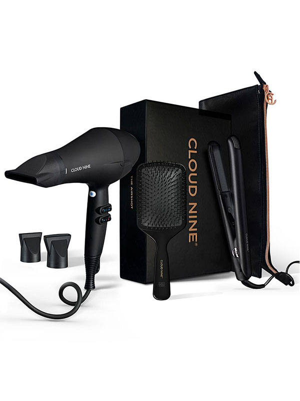 Cloud 9 hairdryer and touch iron