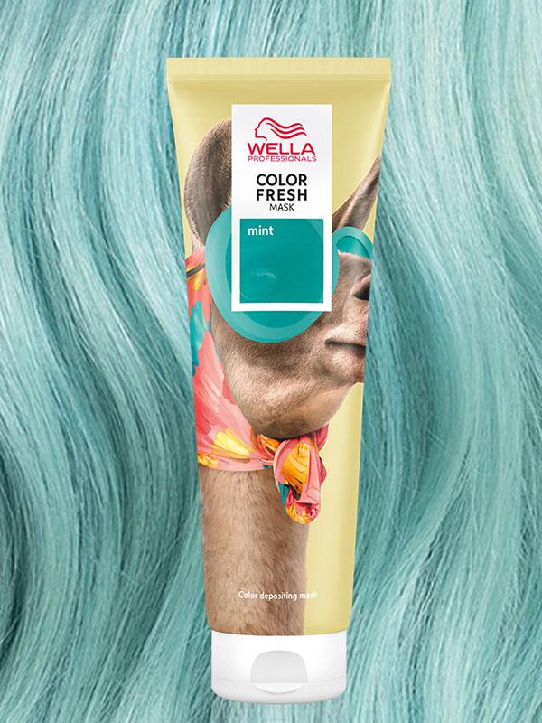 Wella Colour Fresh Mask Mint 150ml